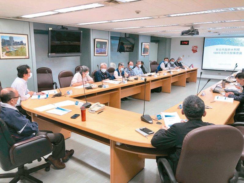 新北市水利局在汛期來臨前超前部署,盼確保民眾生命財產安全。 圖/新北市水利局提供
