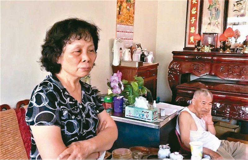 李承翰母親昨天得知鐵警案重裁,期望判決對社會有交代。 記者卜敏正/攝影