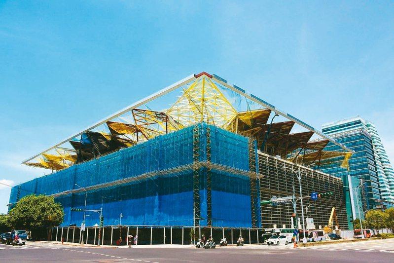 全台地標建築多是中鋼構傑作。 圖/聯合報系資料照片