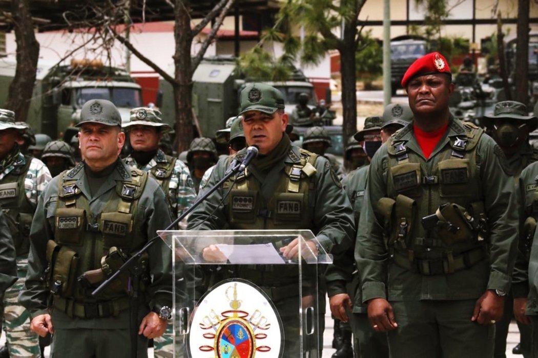 委內瑞拉國防部長,3日再次重申對馬杜羅的忠誠。 圖/歐新社