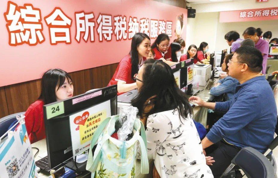 108年度個人綜合所得稅申報5月1日登場。  圖/聯合報系資料照片
