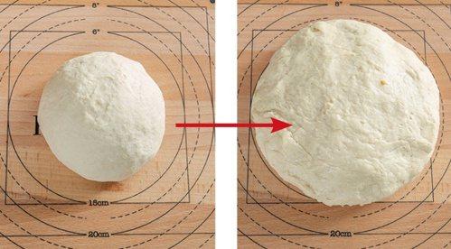 糖餅-注意水溫不能太高,以免酵母死掉。 圖/台灣廣廈 提供