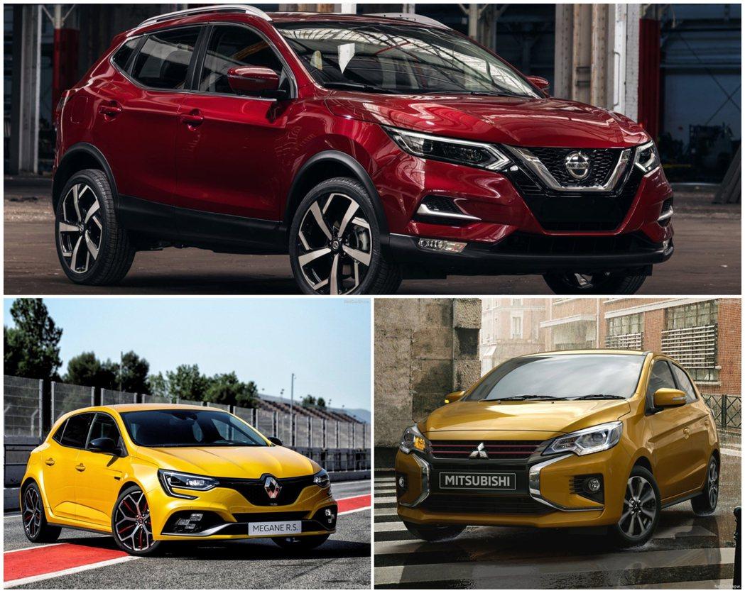 Nissan將可能提出聯盟分區市場經營計畫。 摘自Nissan、Mitsubis...