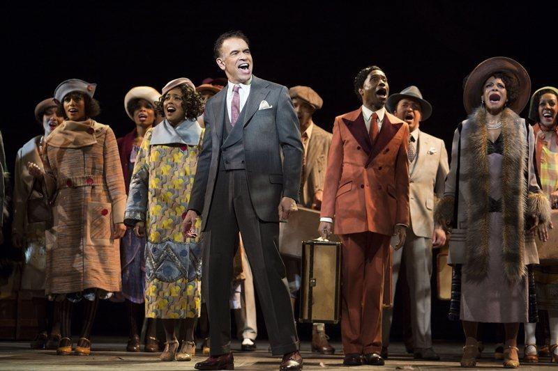 圖為史鐸克在百老匯的演出,攝於2016年。 圖/美聯社