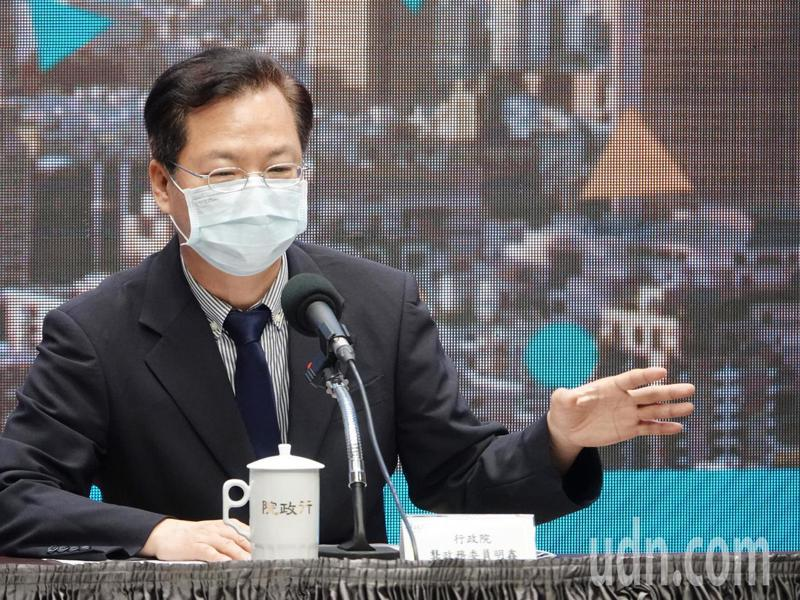 行政院政委龔明鑫昨天表示振興券方案形式已到收尾階段,會盡快對外公布。圖/聯合報系資料照片