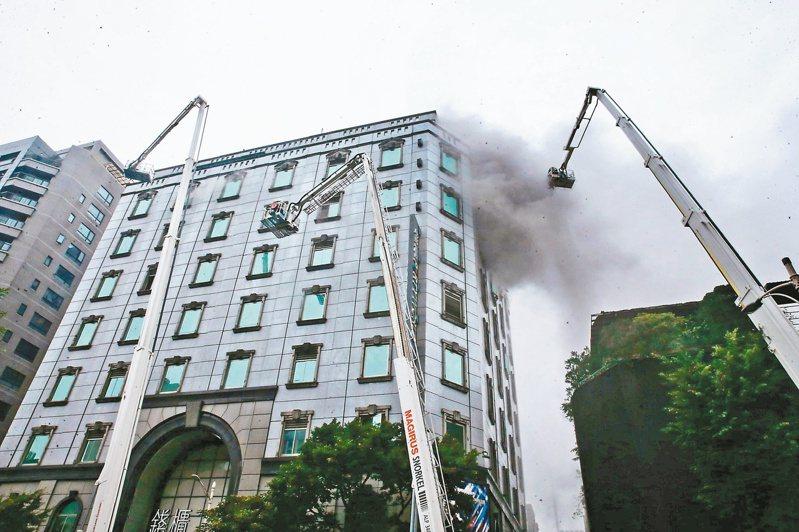 錢櫃KTV大火釀6死。本報資料照