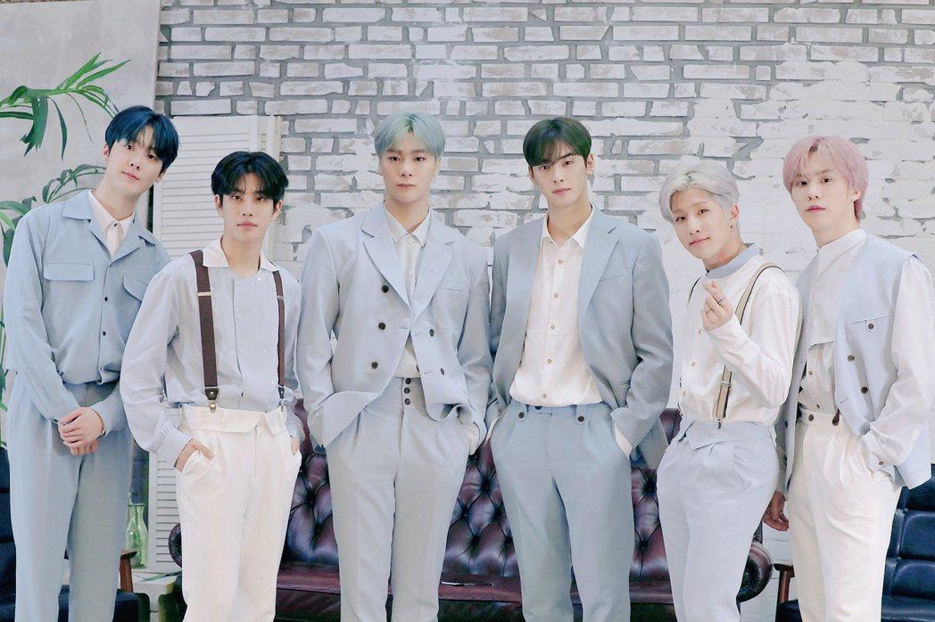 南韓男團ASTRO推出第七張迷你專輯「GATEWAY」。圖/CL Creativ