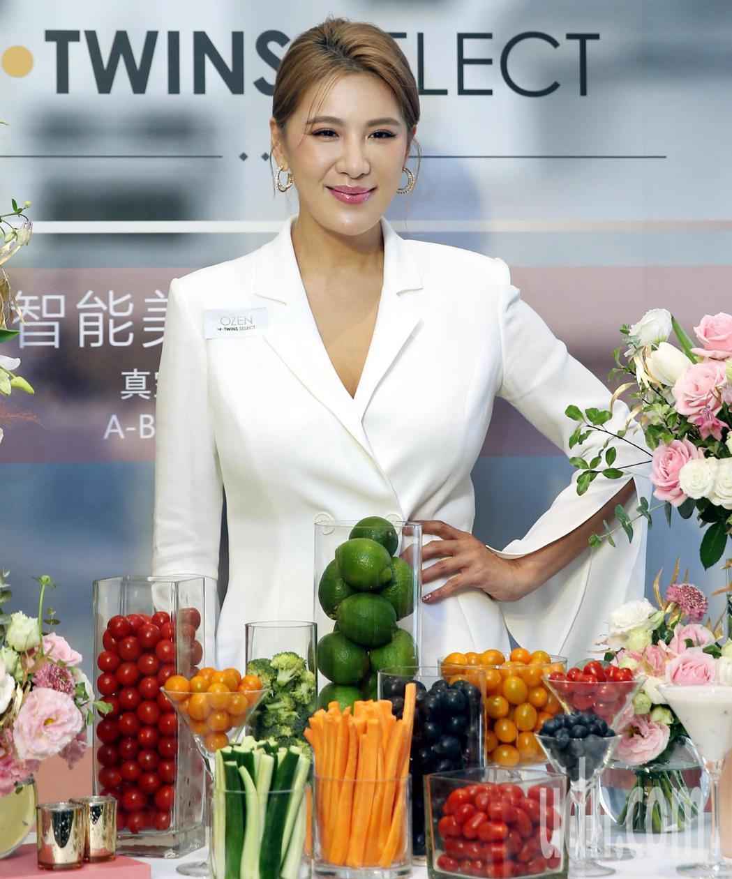 小禎擔任韓國廚房精品家電品牌首位在台代言人。記者侯永全/攝影