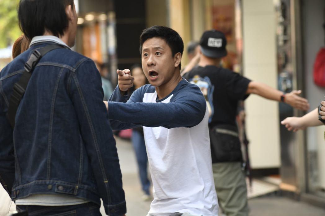 朱栢康在「金都」裡面扮演一名控制狂男友。圖/采昌提供
