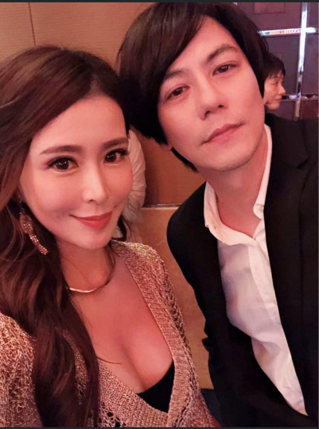 德馨和男友廣宏一外型十分登對。圖/擷自臉書