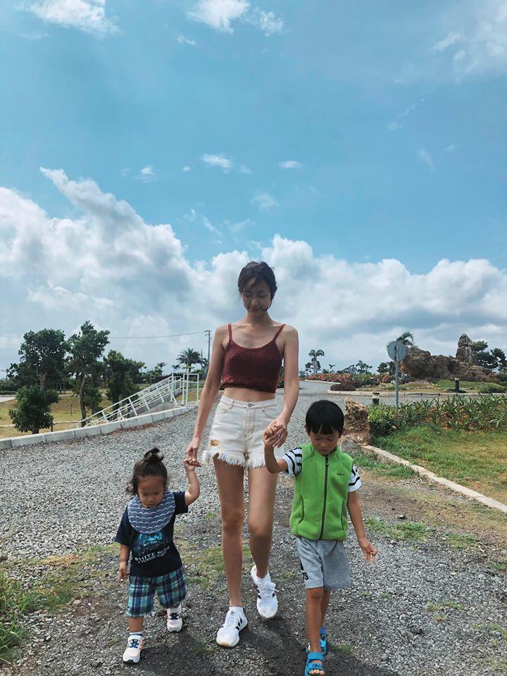 隋棠近來在南台灣生活。圖/摘自臉書