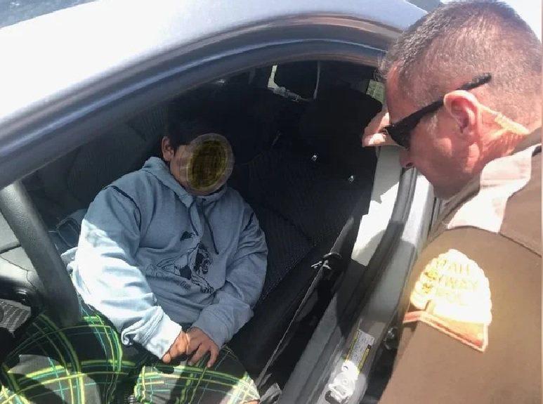5歲男童艾德瑞安因媽媽不買藍寶堅尼給他,決定開車離家出走。圖為美國猶他州公路警察...