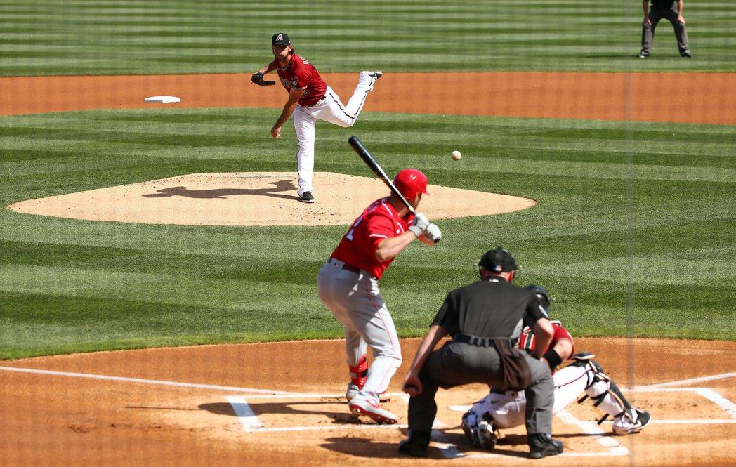 受疫情影響,美國職業棒球大聯盟(MLB)開季尚未有譜。 圖/路透社