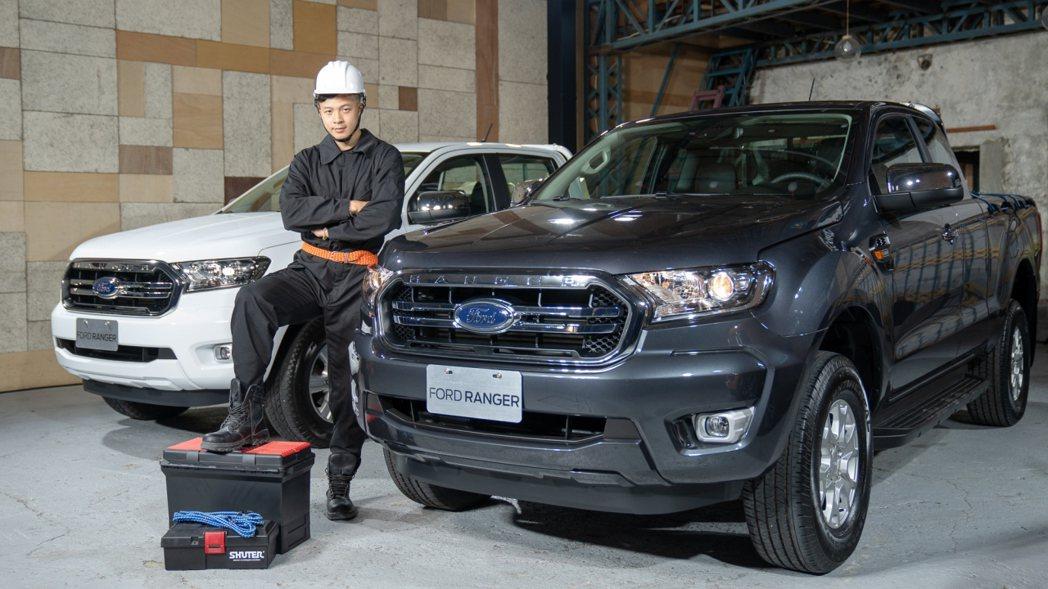 New Ford Ranger職人型將是專業職人的好夥伴。 圖/福特六和提供