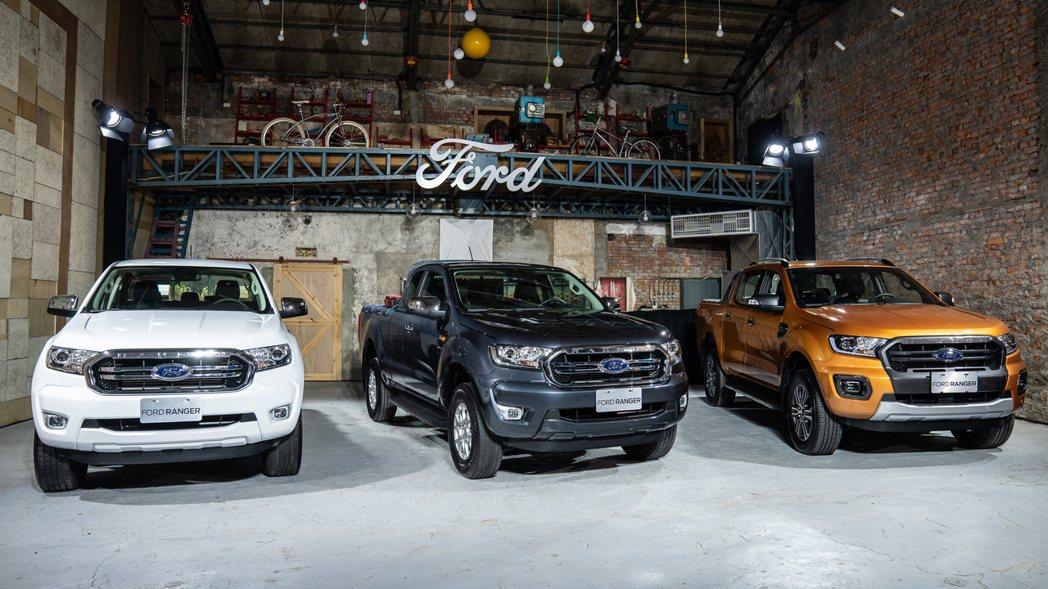 Ford特別針對皮卡陣容進行強化,更推出兩款打破市場行情的Ford Ranger...