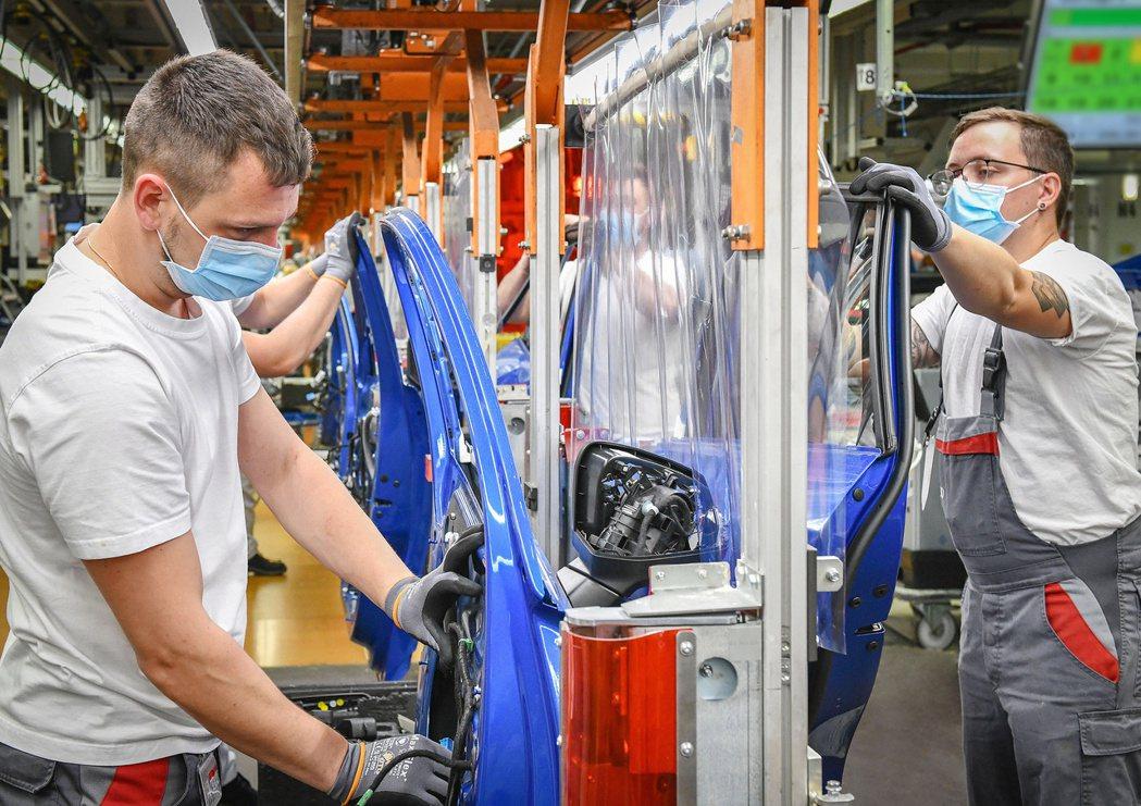 Audi於歐洲的工廠已復工。 摘自Audi