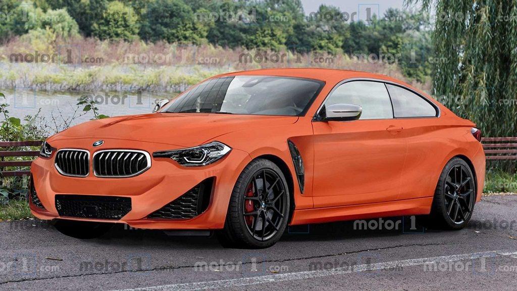 全新BMW M240i Coupe預想圖。 摘自Motor1