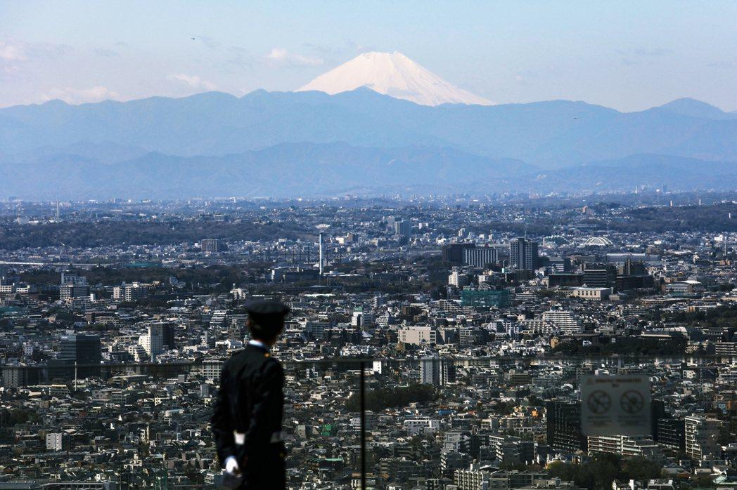 圖為2020年的東京富士山。 圖/美聯社