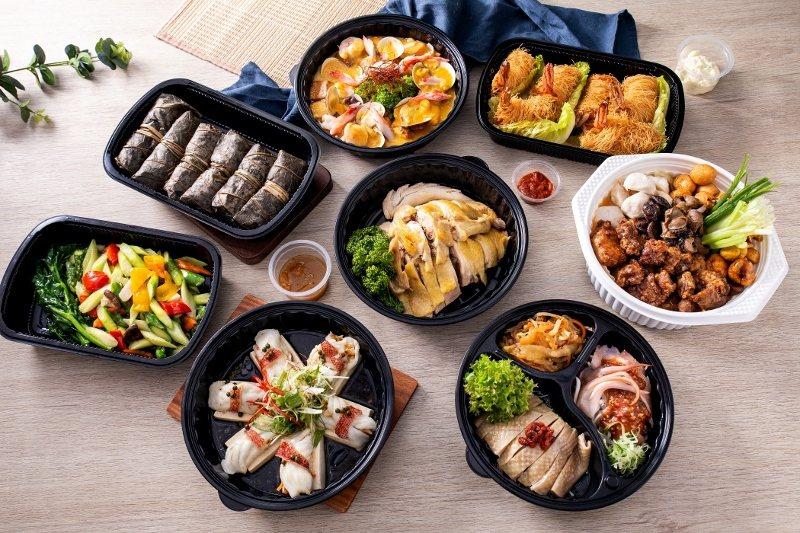 北投雅樂軒的母親節限定中式組合套餐,6000元有找。 北投雅樂軒/提供