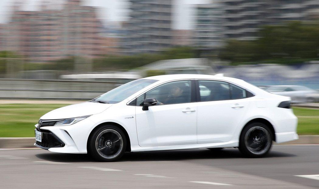 Corolla Altis GR Sport Hybrid除了顏值高外,駕馭樂趣...