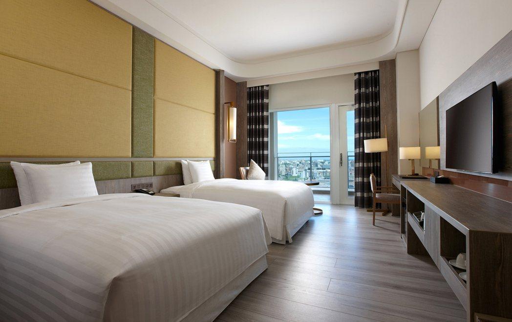 市景豪華雙床客房。 福朋喜來登酒店/提供。