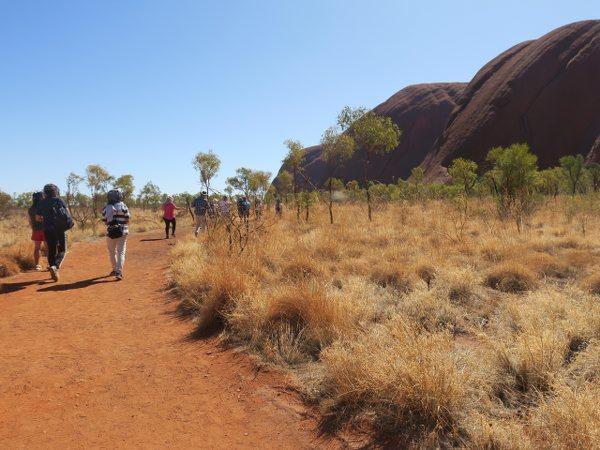 烏魯魯(Uluru) 愛爾斯岩(Ayers Rock)