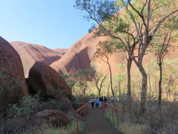 烏魯魯(Uluru) 愛爾斯岩(Ayers Rock)的水洞(Water Hole)