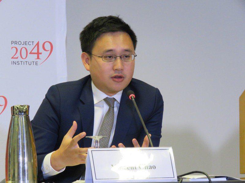 駐美代表處政治組組長趙怡翔。圖/聯合報系資料照片