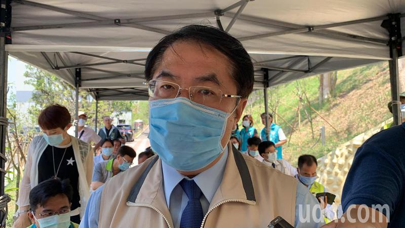 台南市長黃偉哲表示,1968景點全刪,非市府意見。記者吳淑玲/攝影