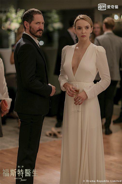 「夫婦的世界」原版英劇「福斯特醫生」茱蒂康默飾演小三。圖/愛奇藝台灣站提供