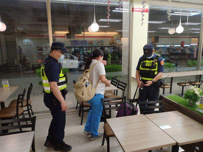 為維護女高中生的安全,楊梅警方主動將她載返楊梅住家。記者高宇震/翻攝