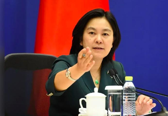 中國外交部發言人華春瑩。圖/中新社
