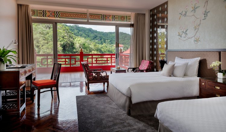 圓山飯店豪華客房。圖/圓山飯店提供