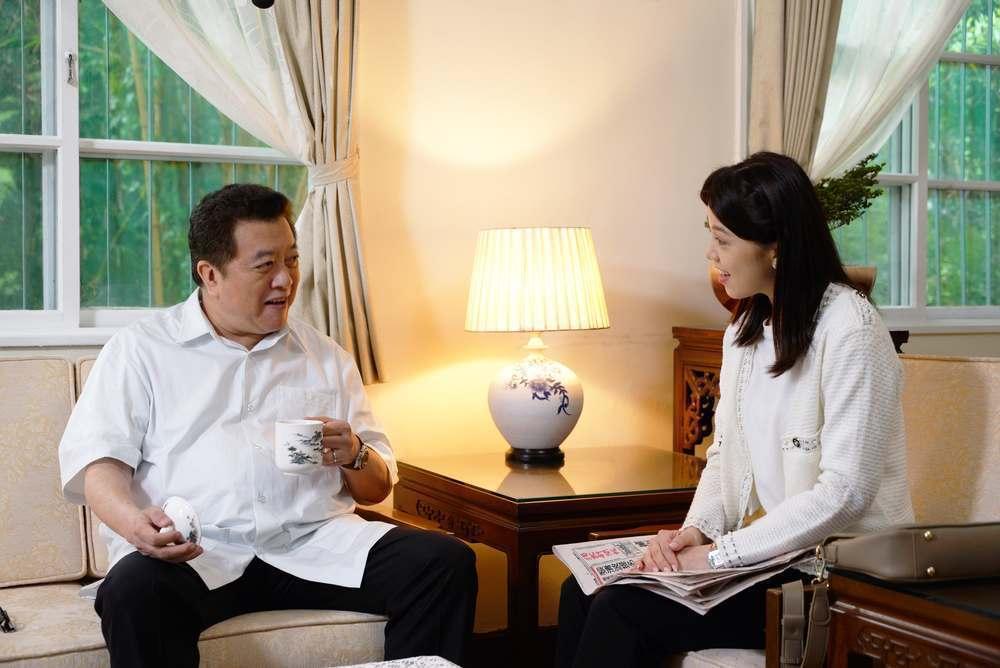 林在培(左)、廖苡喬飾演父女。圖/公視提供
