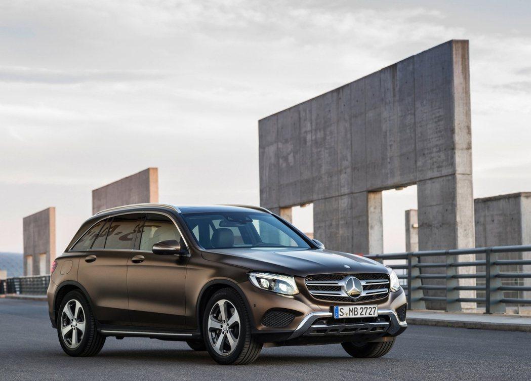 2016 Mercedes-Benz GLC。 摘自Mercedes-Benz