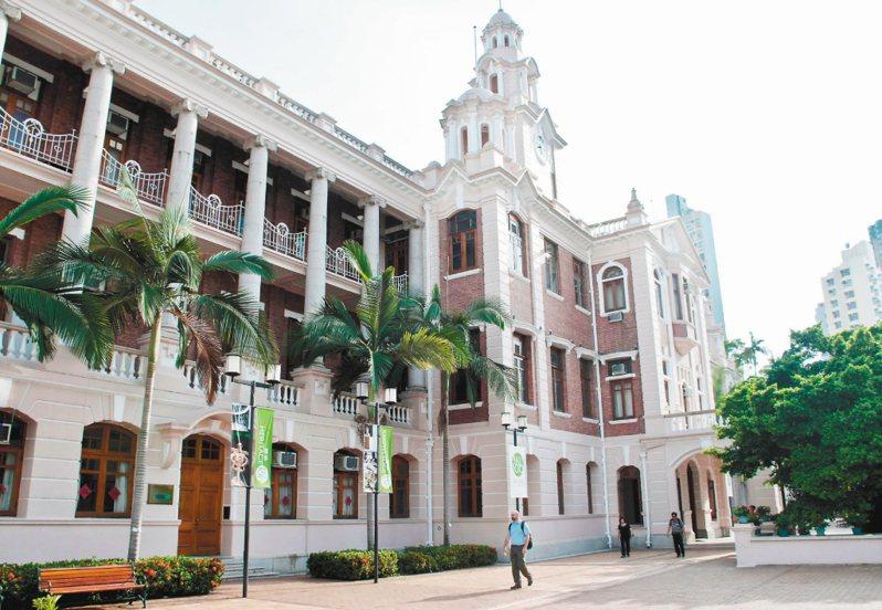 香港大學。新華社資料照