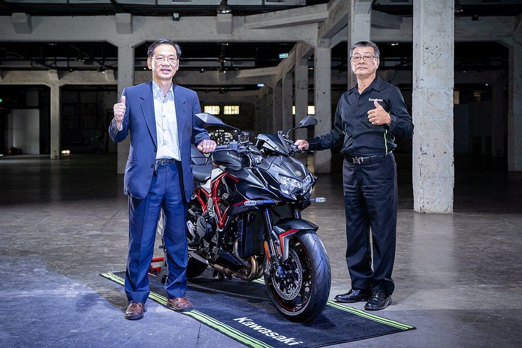 雖然受疫情影響,但Kawasaki Motors Taiwan台崎重車依舊發表年...