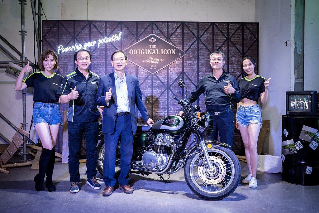 Kawasaki Motors Taiwan台崎重車發表Ninja 1000、N...