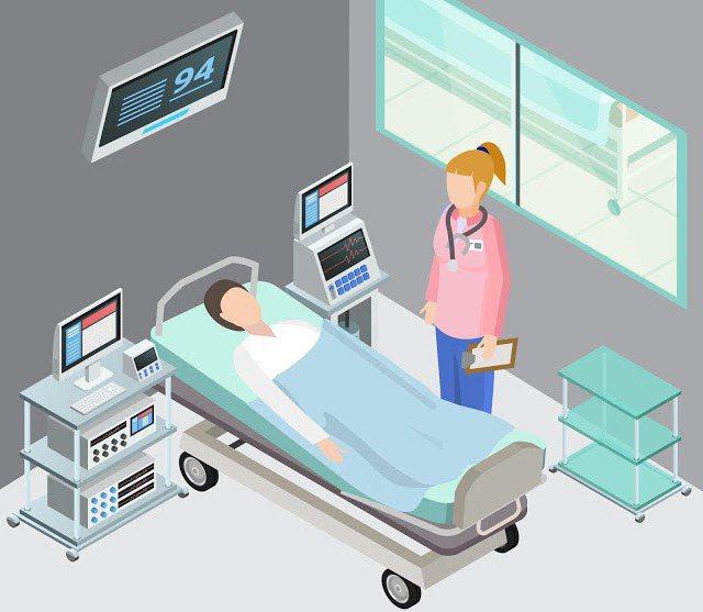 負壓病房和一般病房差別在哪裡?(此為參考圖)
