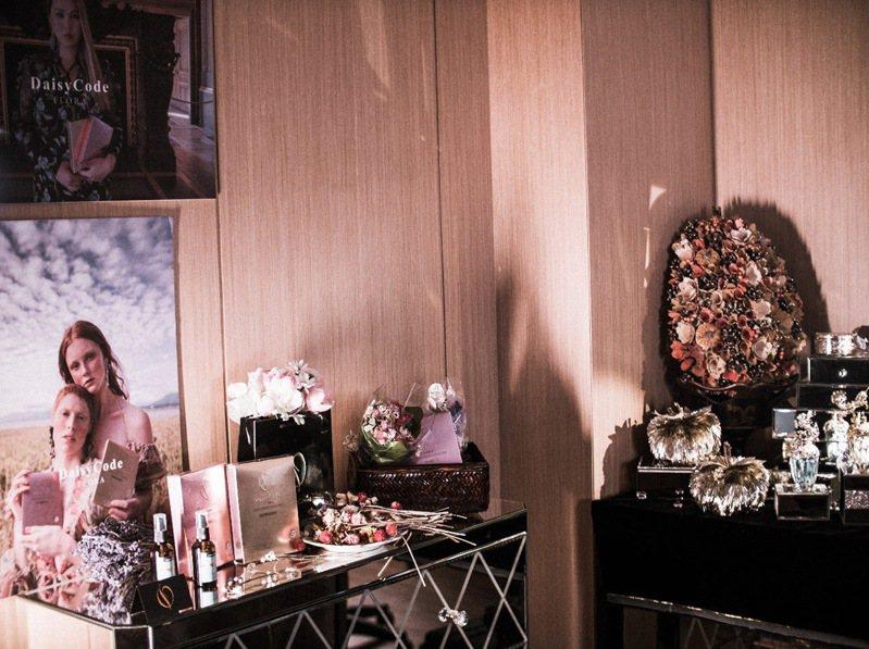 加拿大美學品牌DaisyCode位於台北的工作室。 圖/立光形象創意 提供