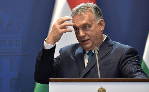 東歐的匈牙利、塞爾維亞與蒙特內哥羅遭人權組織點名已非民主國家。突圍匈牙利總理奧班。(Photo by 克裏姆林宮)