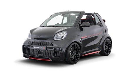 電動Smart EQ cabrio也能改裝?Brabus說沒問題!