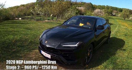 影/Lamborghini Urus改到960匹後有多快?