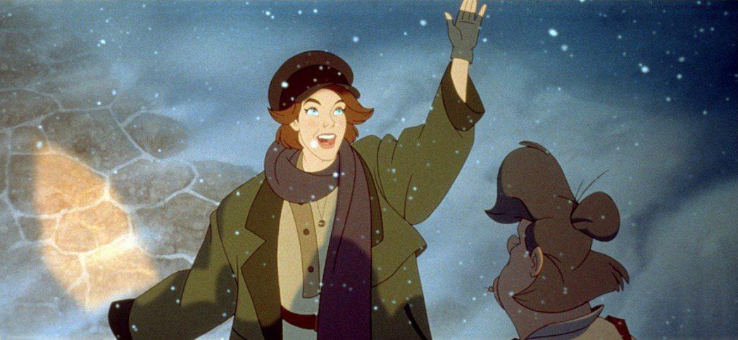 「真假公主:安娜塔西亞」女主角由梅格萊恩聲音演出。圖/摘自imdb