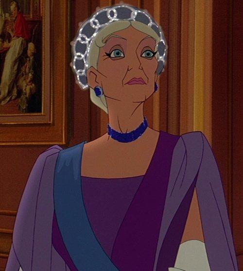 「真假公主:安娜塔西亞」皇太后由曾為迪士尼「美女與野獸」獻聲的安琪拉蘭絲柏莉擔任...