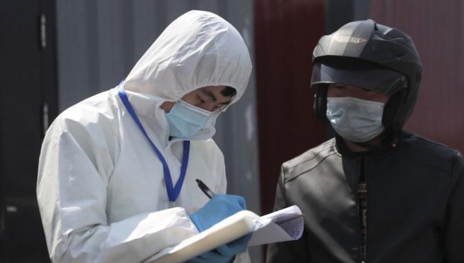 中國大陸昨天(6日)新增兩宗境外輸入病例,來自上海和廣東。(新華社資料圖片)