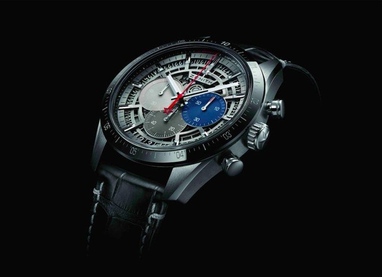 ZENITH CHRONOMASTER 2腕表的設計雄渾剛勁風格獨特,與品牌傳統...