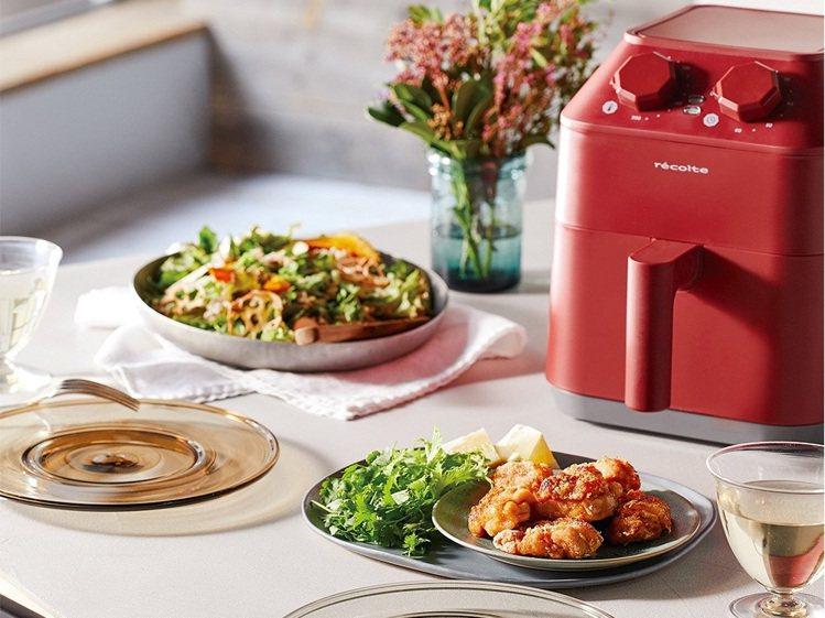recolte日本麗克特Air Oven氣炸鍋,定價4,990元、博客來5月31...