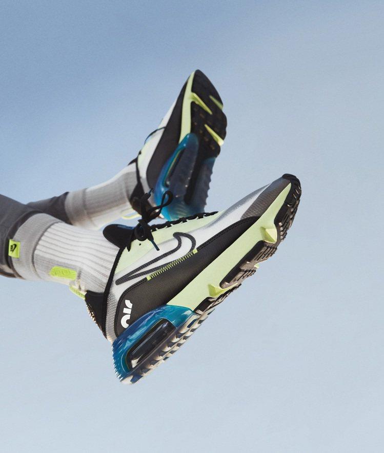 Nike Air Max 2090鞋延續了優異的緩震性能之外,還以Air Max...