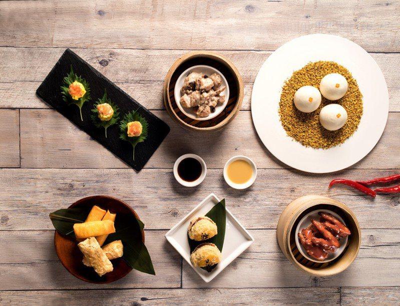 台北六福萬怡酒店破天荒推出「2020怡饗天開 港點吃到飽」活動,還有木柵特產綠竹筍消暑入菜。圖/六福旅遊集團提供